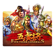 five tiger general game png